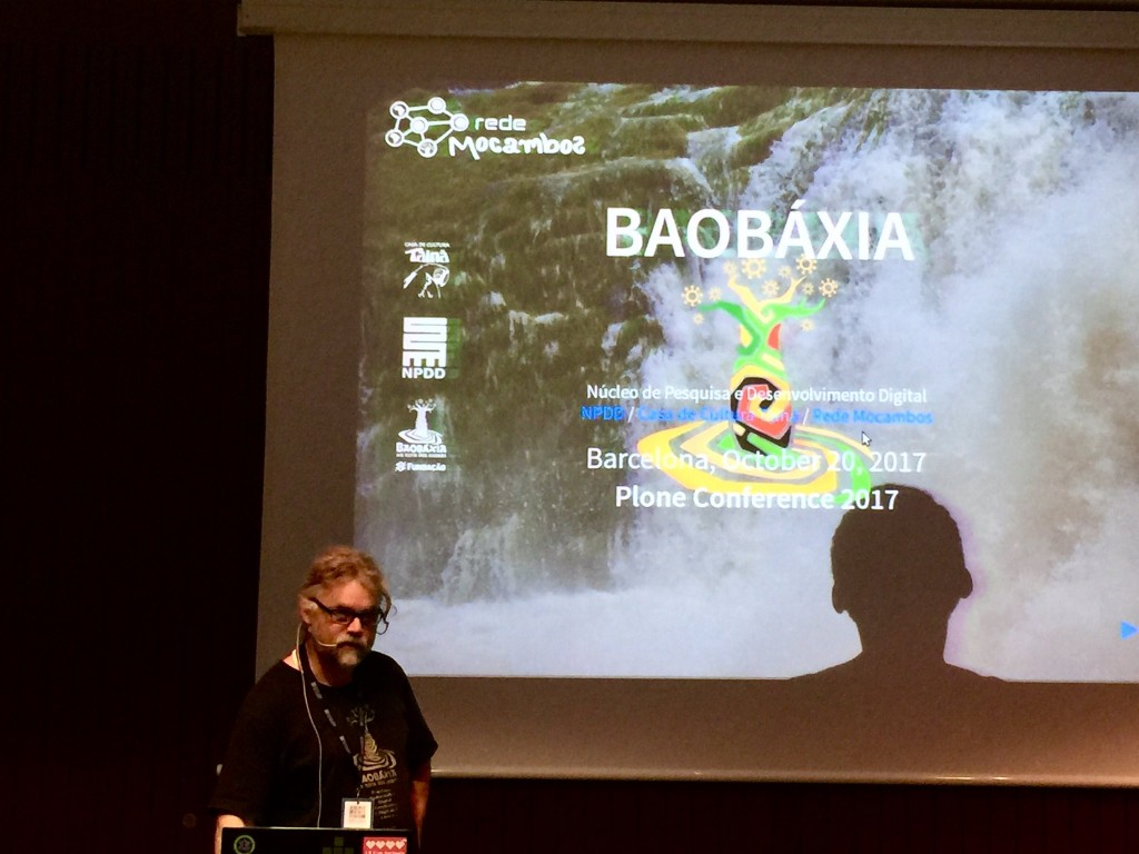 Baobáxia at the 2017 Plone conference