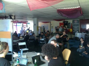 Hacking at the GNU hackers meeting