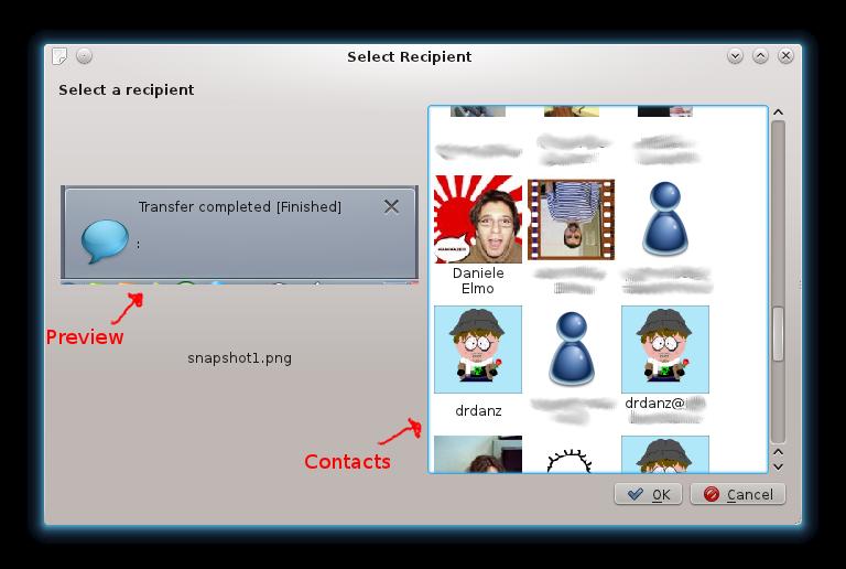 Send File Dialog