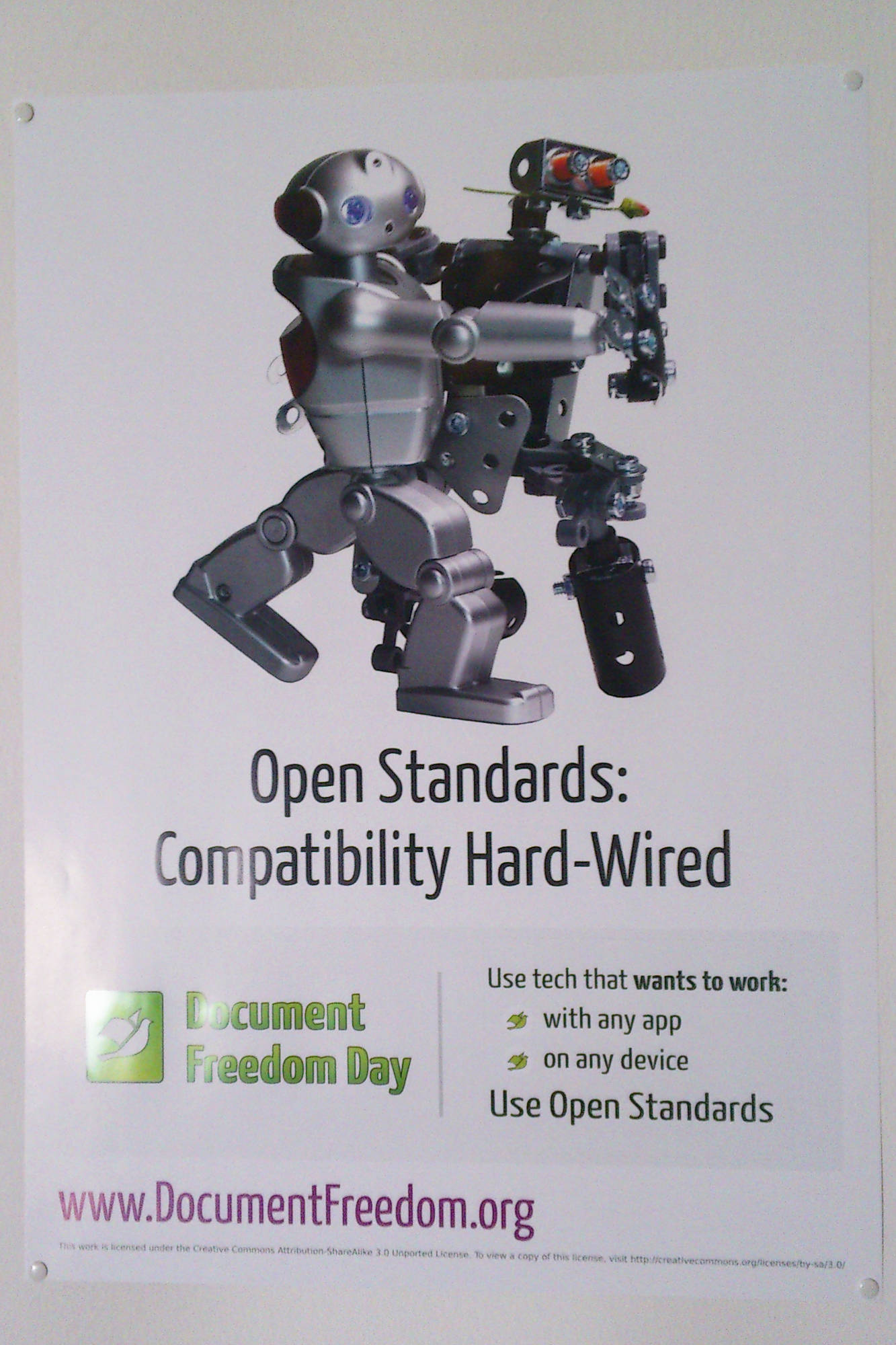 Open Standards: Compatibility Hard-Wired