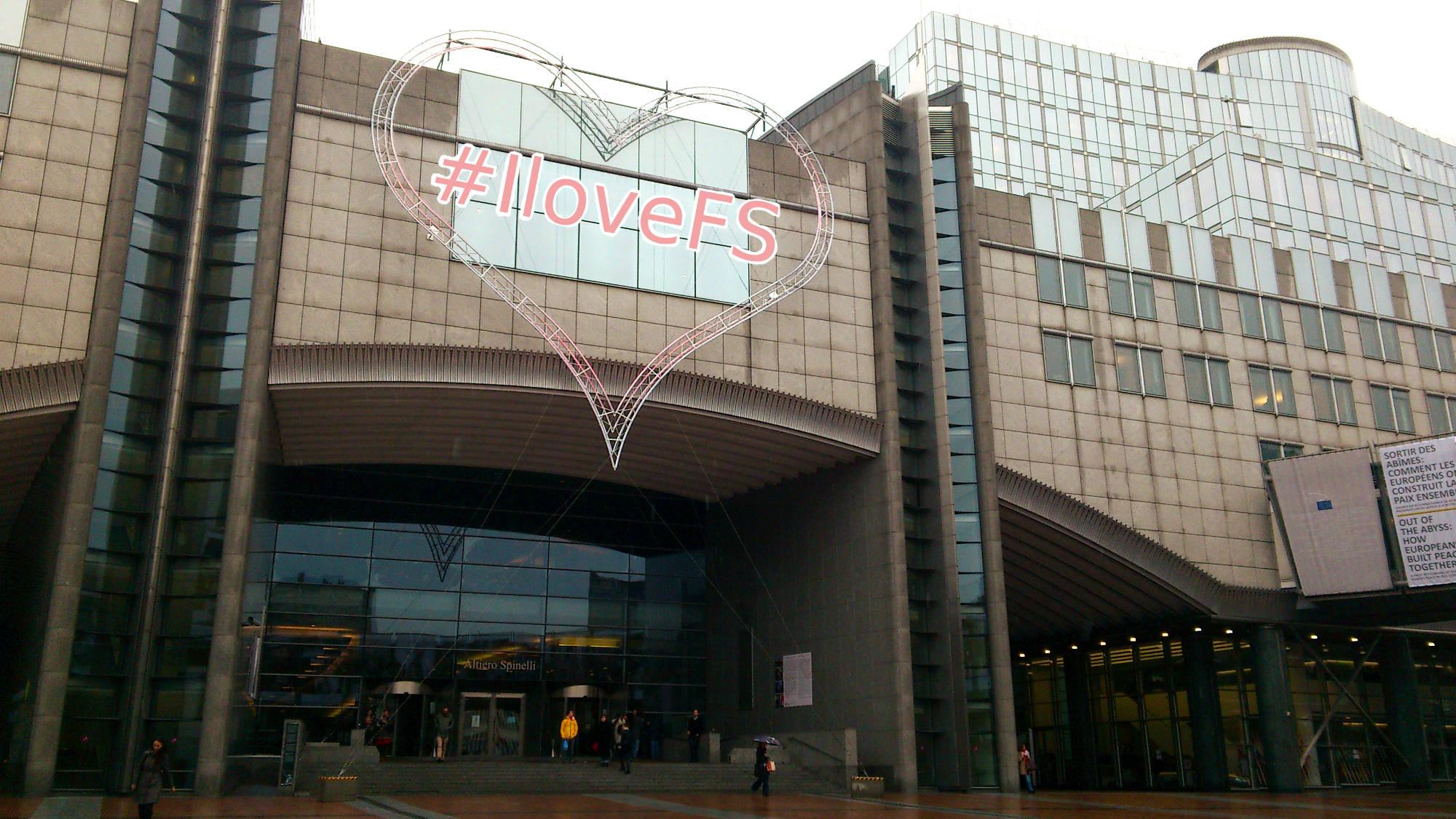 European Parliament celebrating #IloveFS