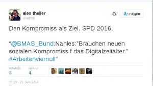 """""""Den Kompromiss als Ziel. SPD 2016"""""""