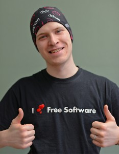 Thumbs up! Gollo loves Free Software