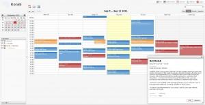 Kolab Calendar