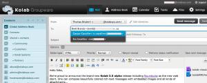 Kolab Web Client - Roundcube++