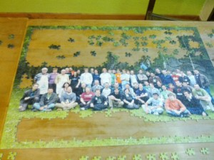 Jigsaw puzzle of the group picture 2011