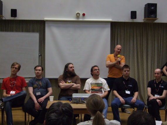 The Python implementations panel