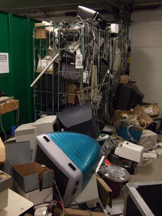 The electrical waste collection
