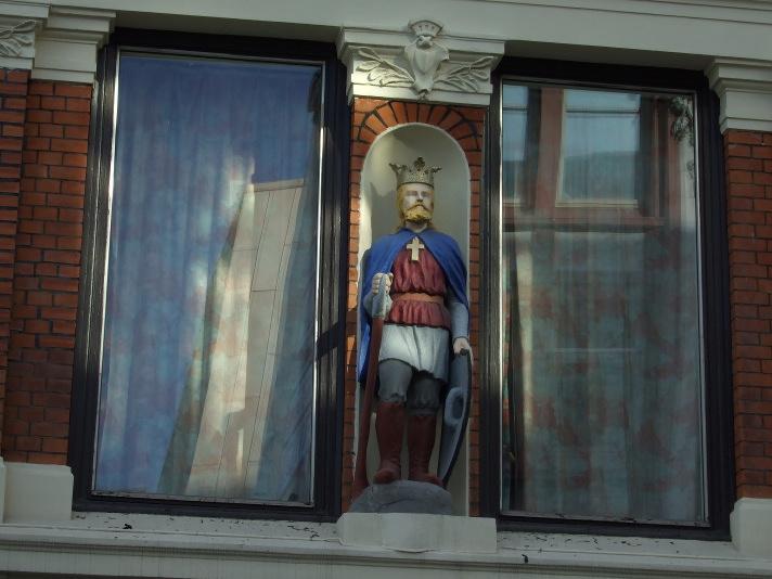 Architectural ornamentation in central Oslo