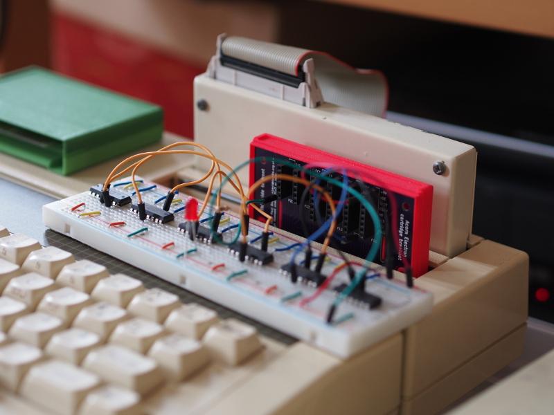 Acorn Electron cartridge breakout board