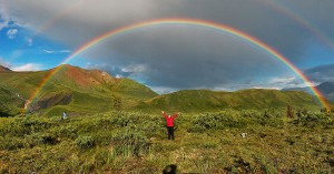 Alaskan rainbow from Wikipedia