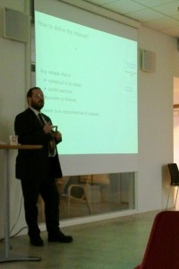 Benjamin Bayart talking about the structure of the Net