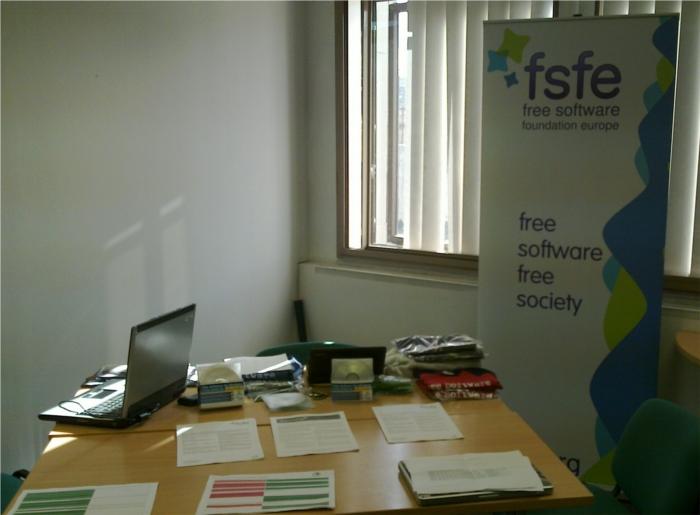 FSFE Booth