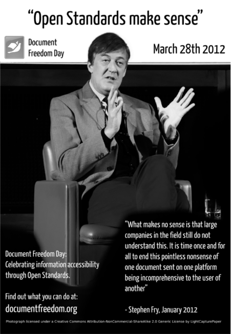 Stephen Fry DFD poster
