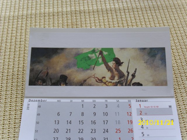 Kalender fertig
