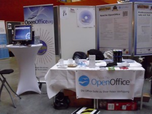 AOO-Stand mit Banner