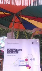 Saatgut wie Software, frei unterm Sonnenschirm